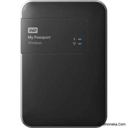 WD My Passport Wireless 2TB [WDBDAF0020BBK-CESN] - Hard Disk External 2.5 Inch